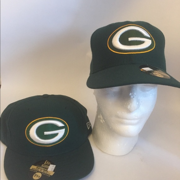 25f981cd New Era 59FIFTY Green Bay Packers fitted hat NWT